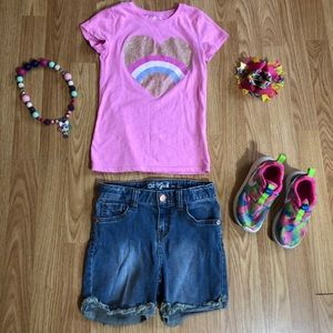 Girl clothes size 6-6x, shoes size 10